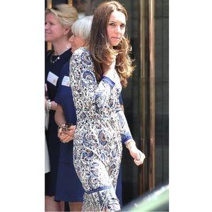 Tory Burch Brigitte Shirt Dress Kate Middleton